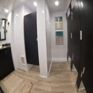 Luxury Mobile Restroom Trailers